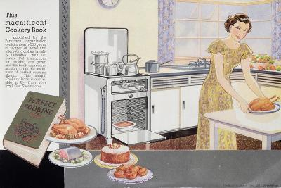 The Magnificent Cookery Book, 1940S--Giclee Print