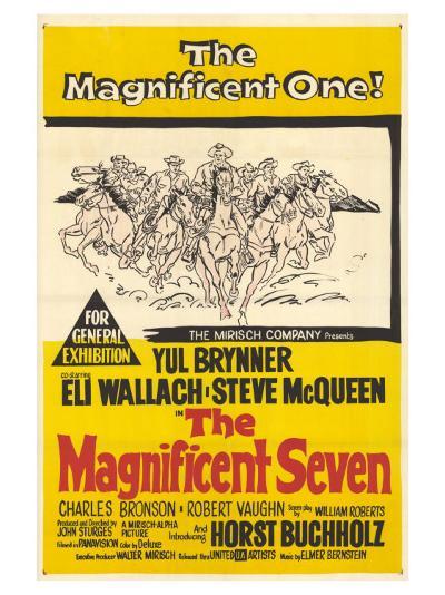 The Magnificent Seven, 1960--Art Print