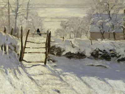 The Magpie, c.1869-Claude Monet-Giclee Print