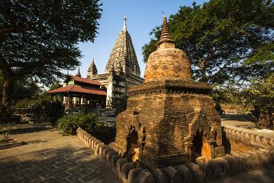 The Mahabodhi Temple, a Buddhist Temple Built in the Mid-13th Century, Located in Bagan (Pagan)-Thomas L-Photographic Print
