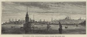 The Maiden's Tower, Constantinople, Looking Towards the Golden Horn