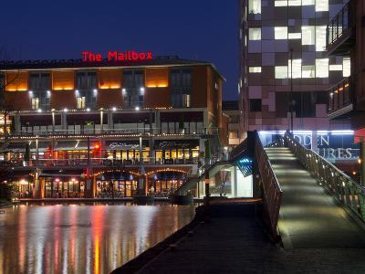 The Mailbox, Canal Area, Birmingham, Midlands, England, United Kingdom, Europe-Charles Bowman-Photographic Print