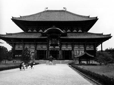 The Main Building of Todaiji Monastery--Photographic Print