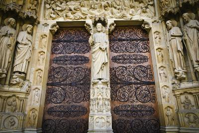 The Main Entrance to Notre Dame Cathedral, Paris, France-Russ Bishop-Photographic Print