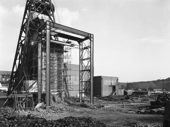 The Main Fan Drift at Rossington Colliery, Doncaster, South Yorkshire, 1966-Michael Walters-Photographic Print