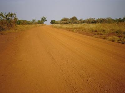 The Main Road from Cameroun to the Capital Bangui, Central African Republic, Africa-David Poole-Photographic Print
