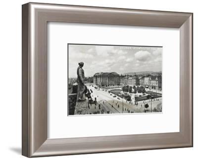 The Main Square of Zagreb, Croatia--Framed Photographic Print