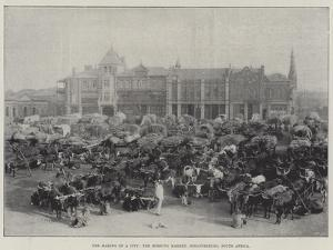 The Making of a City, the Morning Market, Johannesburg, South Africa