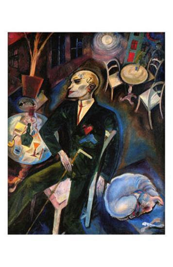 The Malady of Love, c.1916-George Grosz-Art Print