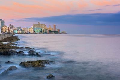 The Malecon, Havana, Cuba, West Indies, Caribbean, Central America-Alan Copson-Photographic Print