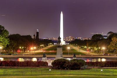 The Mall Monument Us Grant Memorial Evening Stars Washington Dc-BILLPERRY-Photographic Print
