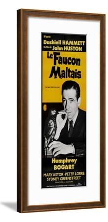 The Maltese Falcon, French Movie Poster, 1941
