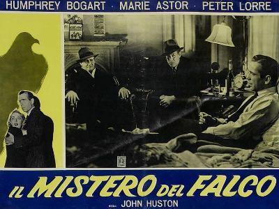 The Maltese Falcon, Italian Movie Poster, 1941--Art Print