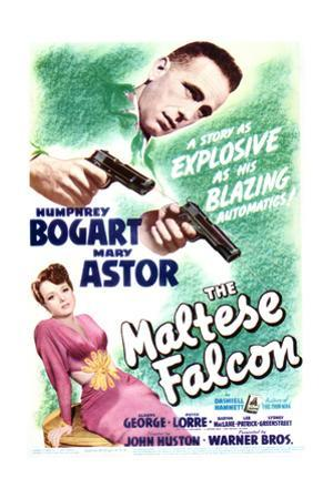 The Maltese Falcon - Movie Poster Reproduction