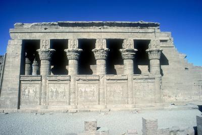The Mammisi (Birth-House), Temple of Hathor, Dendera, Egypt, 125 BC - 60 Ad-CM Dixon-Photographic Print