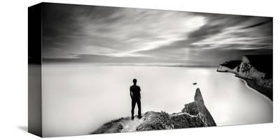 The Man and the Sea, Study 4-Marcin Stawiarz-Stretched Canvas Print