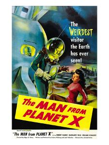 The Man From Planet X, Pat Goldin (As the Title Character), Margaret Field (Girl On Right), 1951