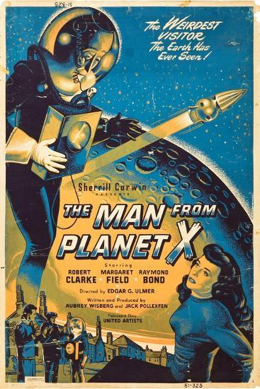 The Man From The Planet X, Pat Goldin, Margaret Field, 1951--Art Print