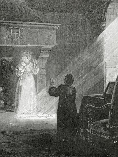 The Man in the Iron Mask, 19th Century-Tony Robert-fleury-Giclee Print