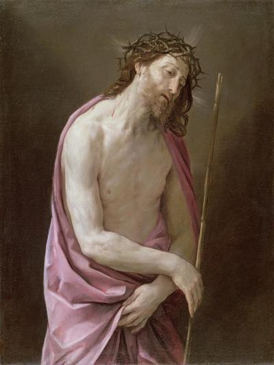 The Man of Sorrows, C.1639-Guido Reni-Giclee Print