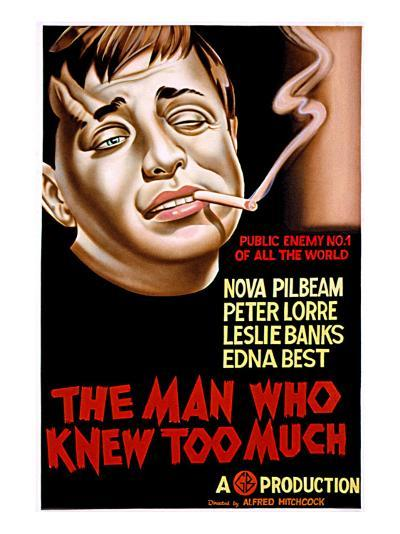 The Man Who Knew Too Much, Peter Lorre, 1934--Photo