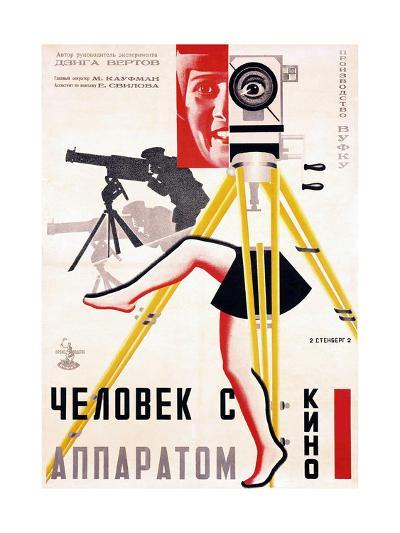 The Man with a Movie Camera, 1929--Giclee Print