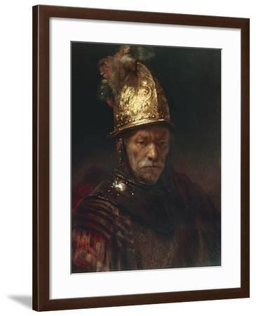 The Man with the Golden Helmet, 1650-55--Framed Giclee Print