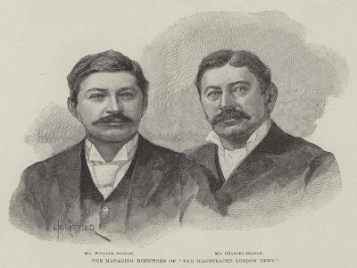 The Managing Director of The Illustrated London News-Amedee Forestier-Giclee Print