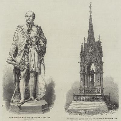 The Manchester Albert Memorial--Giclee Print