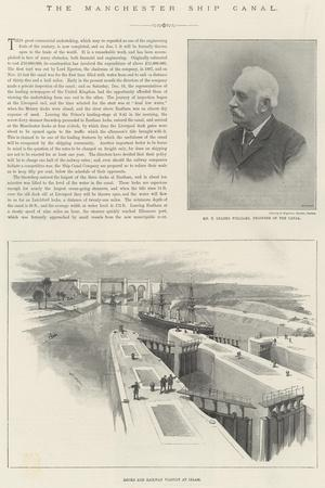 The Manchester Ship Canal-William 'Crimea' Simpson-Giclee Print