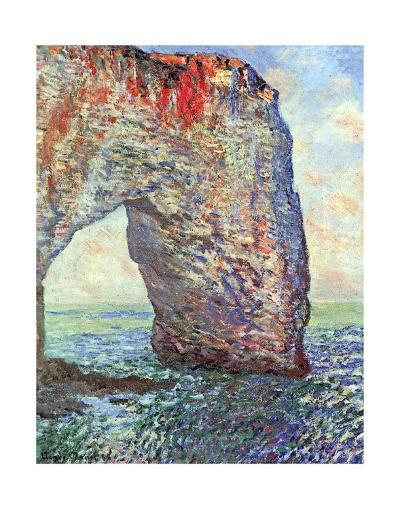 The Manneporte near Etretat, c.1886-Claude Monet-Art Print