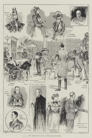 The Manoeuvres of Jane, at the Haymarket Theatre-Ralph Cleaver-Giclee Print