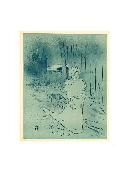 The Manor Lady or the Omen (La Chatelaine Ou Le Tocsin)-Henri de Toulouse-Lautrec-Giclee Print