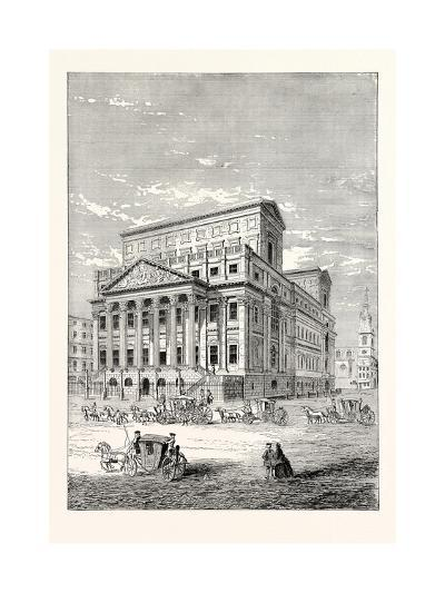 The Mansion House in 1750, London--Giclee Print