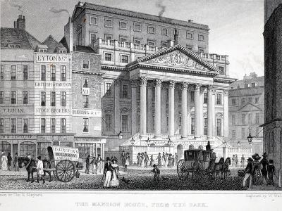 The Mansion House-Thomas Hosmer Shepherd-Giclee Print