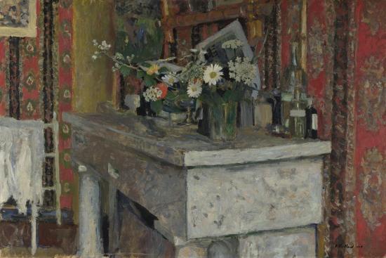 The Mantelpiece (La Cheminé), 1905-?douard Vuillard-Giclee Print
