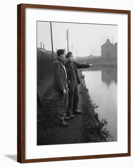 The Manure lock basin at Wolverhampton, 1950- Carter-Framed Photographic Print