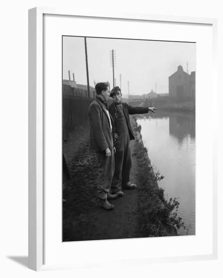 The Manure lock basin at Wolverhampton, 1950- Carter-Framed Photographic Print