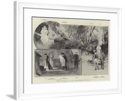 The Manxman, at the Shaftesbury Theatre-Henry Charles Seppings Wright-Framed Giclee Print