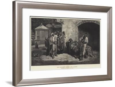 The Marabout (Sacred) Lion, Algiers-Eugene Pavy-Framed Giclee Print