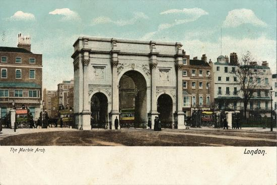 'The Marble Arch', c1910-Unknown-Giclee Print