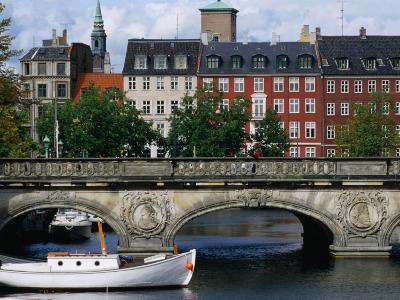 The Marble Bridge Over Frederiksholms Canal, Copenhagen, Denmark-Anders Blomqvist-Photographic Print