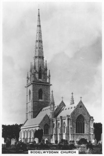 The Marble Church (St Margaret's Churc), Bodelwyddan, North Wales, 1936--Giclee Print