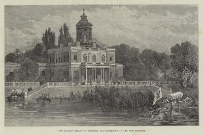 The Marble Palace at Potsdam, the Residence of the New Emperor--Giclee Print