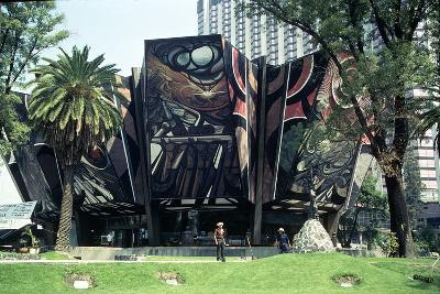 The March of Humanity in Latin America, Relief Mural on the Poliforum Cultural Siqueiros,…--Photographic Print