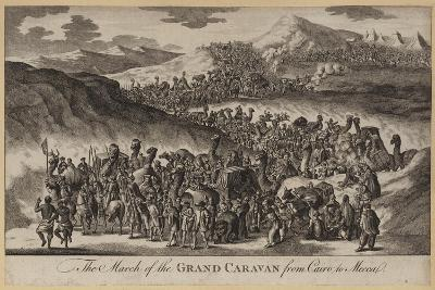 The March of the Grand Caravan from Cairo to Mecca--Giclee Print