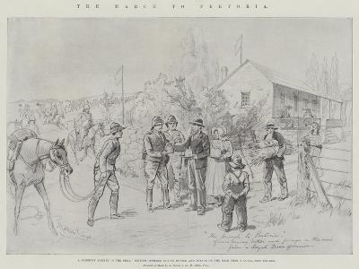 The March to Pretoria-Melton Prior-Giclee Print