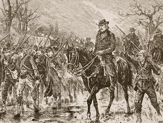 The March to Shiloh--Giclee Print
