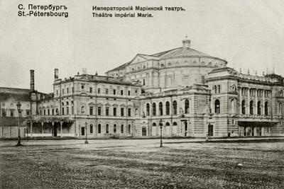 The Mariinsky Theatre, Between 1908 and 1912