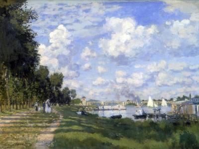 The Marina at Argenteuil, 1872-Claude Monet-Giclee Print